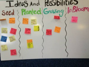 Mosaic's Seeds to Bloom board - more suited for young children!